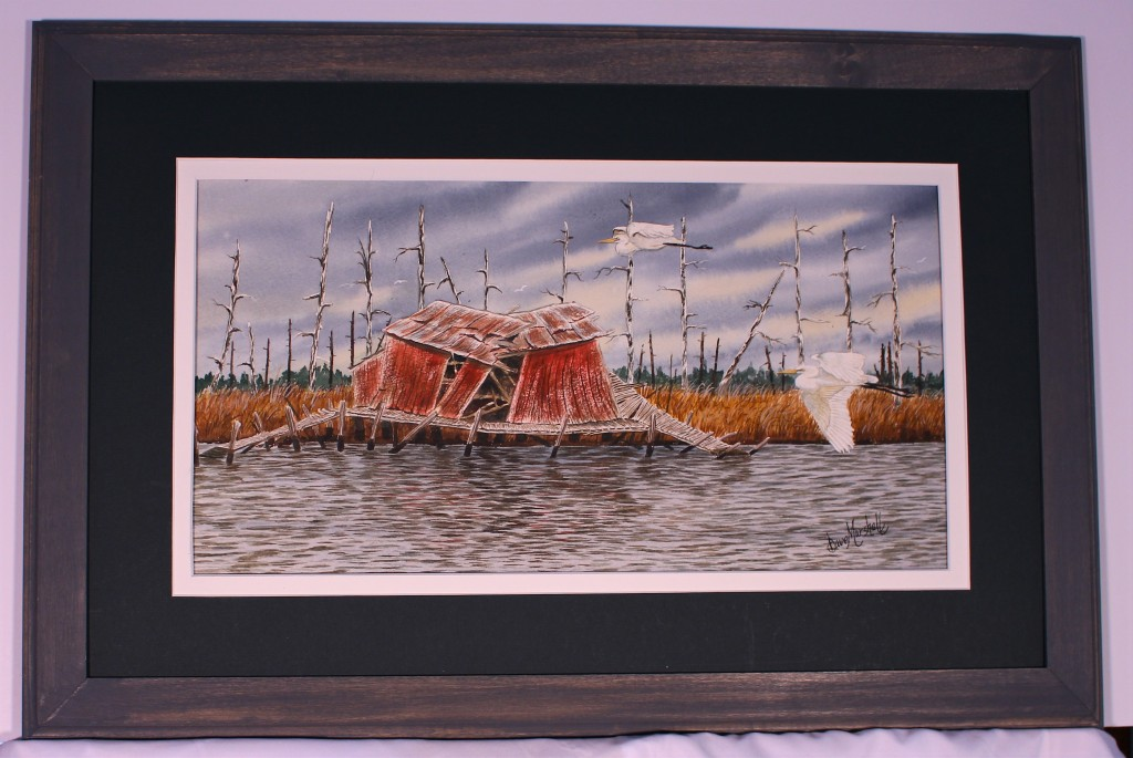 Image of Dave Marshalls Original Watercolor Shambles