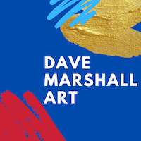 Dave Marshall Art Logo